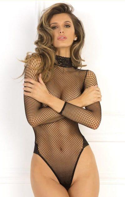 Demand Bodysuit black - Front - Rene Rofé - Lingerie By Valerie