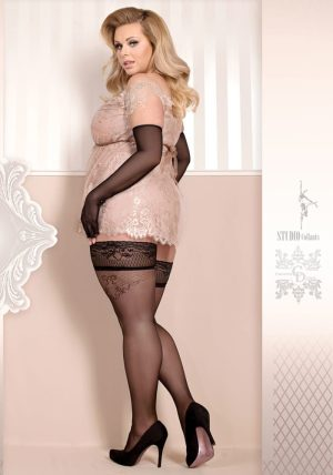 Soft Collection Stay-ups 365 sort - Back - Ballerina Hosiery By Valerie