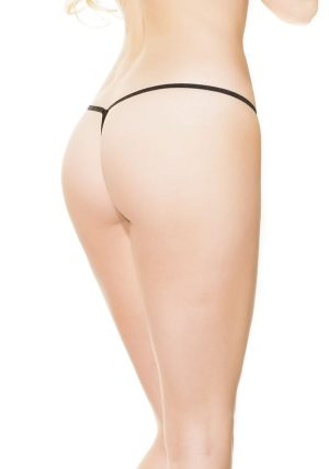 Crotchless G-streng rod - Back - Coquette By Valerie
