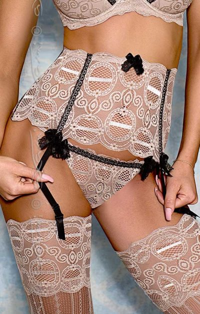Nougat String gray - Front - Axami By Valerie