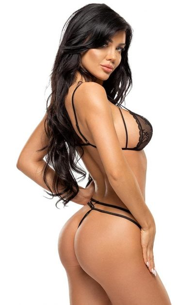 Aryana Sett black - Back - Beauty Night - Lingerie By Valerie