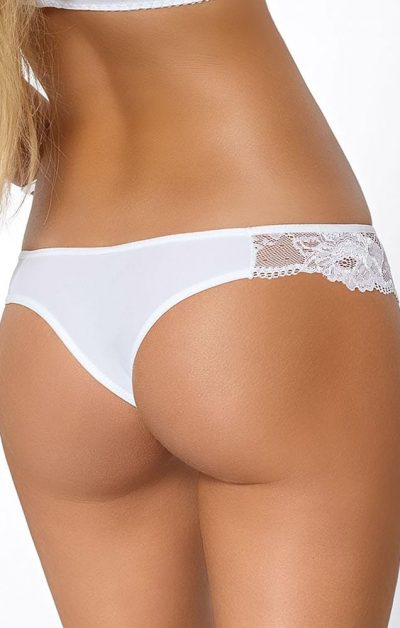 Cleo String white - Back - Pari Pari By Valerie