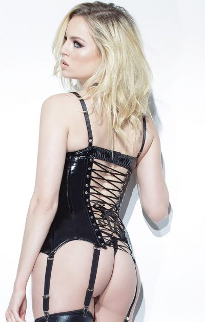 Darque BH sort - Back - Coquette By Valerie