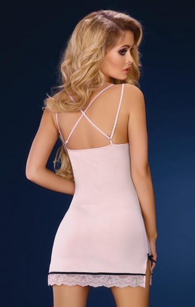 Leslie Babydoll & String pink - Back - Livia Corsetti - Nightwear By Valerie
