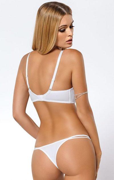 Sari Soft BH white - Back - Pari Pari By Valerie