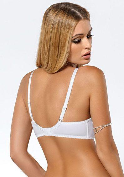 Sari Soft BH white – Back – Pari Pari By Valerie