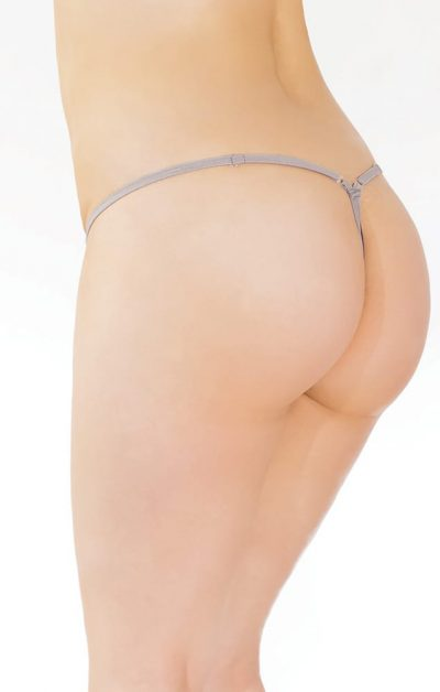 Spell Bound G-streng Queen Size silver-no - Back - Coquette By Valerie