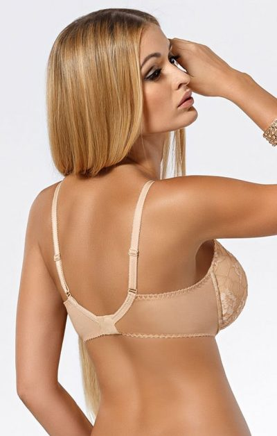 Tavia Push-up BH beige-nude-no-2 - Back - Pari Pari By Valerie