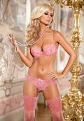 Fancy Push-up BH rosa – Front – Axami By Valerie