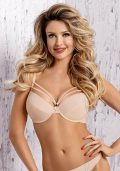 Sirocco Push-up BH beige-nude - Back - Axami By Valerie
