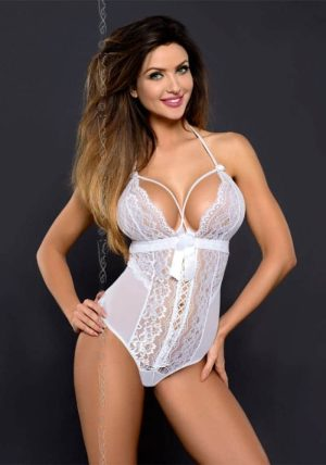 Noa Body white - Front - Axami - Lingerie By Valerie