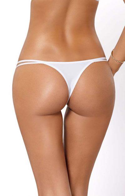 Cassi String white - Back - Pari Pari By Valerie
