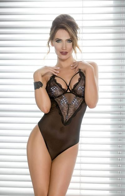 Giorgia Body black - Back - Casmir - Lingerie By Valerie