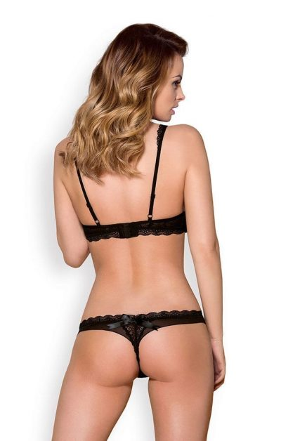 856 BH & String sort - Back - Obsessive - Lingerie By Valerie